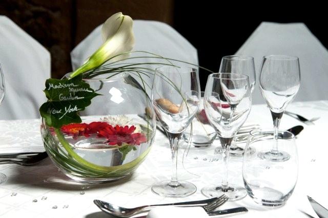 Vase boule 20 cm loc housse d coration loc housse for Centre de table lumineux